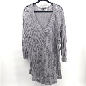 Gray Pullover Torrid Sweater Size 4